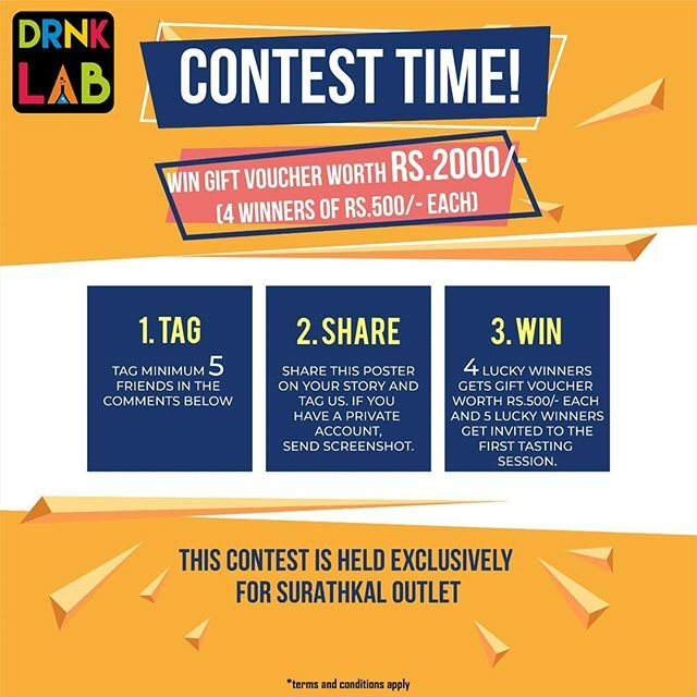 Yes yes yes!!! It's contest time. Here's a chance for you to win gift vouchers worth ₹2000/- (4 winners of ₹500/- each). Follow the rule below to be eligible.  1. Tag minimum 5 friends in the comments below. 2. Share this post on your story and tag u… https://ift.tt/37Knsbf