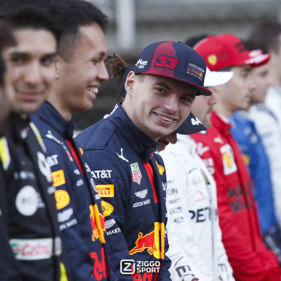 Big Smile.😄  #MaxVerstappen #F1 #F1Testing #RedBull #MightyMax