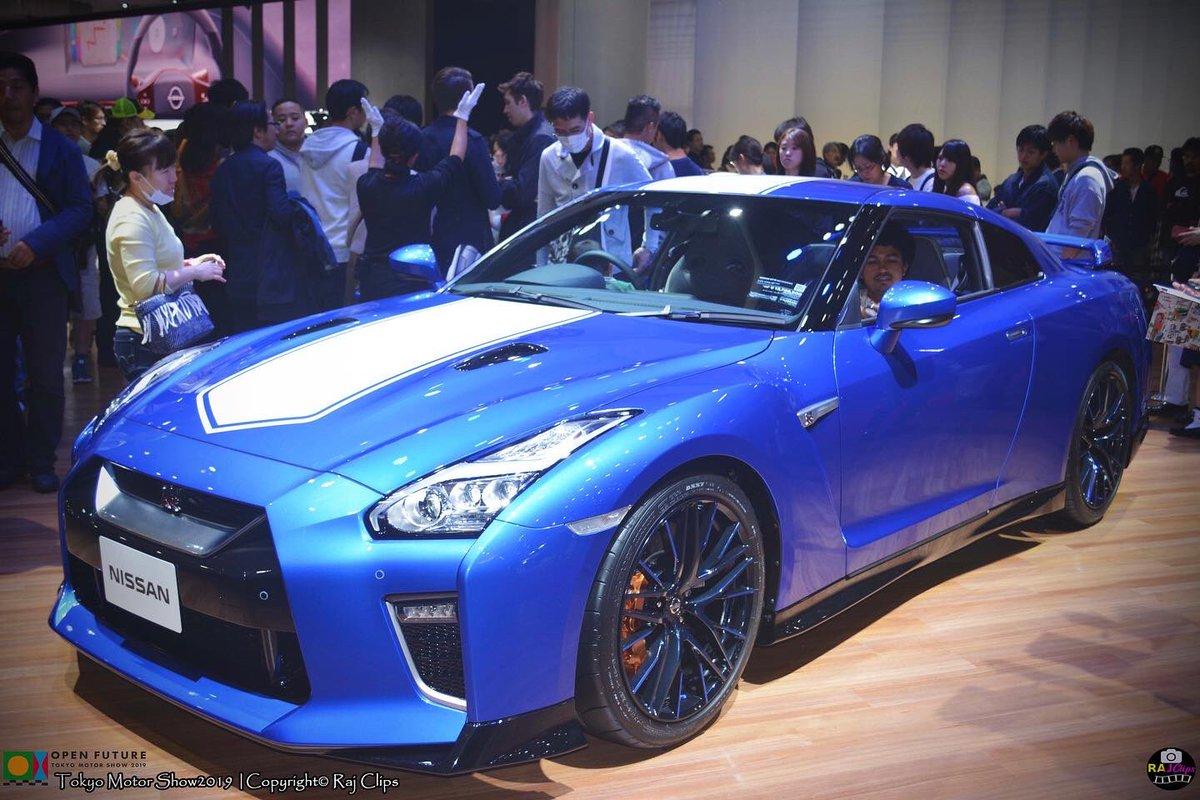 ⭕️2020 NISSAN GT-R 50TH ANNIVERSARY EDITION #nissan #gtr #nissangtr #AutoExpo2020 #tokyo #motorsport #rajclips – at 東京ビッグサイト (東京国際展示場/Tokyo Big Sight)