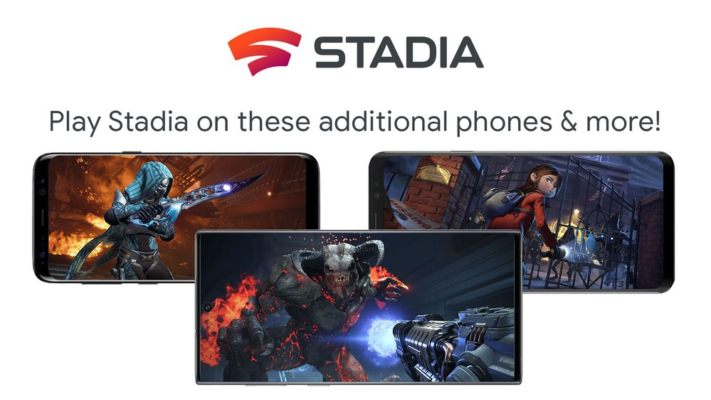 Google stadia is currently supporting to these smartphones: Samsung Galaxy S8,s8+ Galaxy Note8 Samsung Galaxy S9, s9 + Samsung Galaxy Note9 Samsung Galaxy S10,S10e and s10+ Samsung Galaxy Note10, Note10+ Samsung Galaxy S20,S20+, s20 ultra  #Google #Stadia #PlayStation5 #gamingpic.twitter.com/I6K6K59pX6
