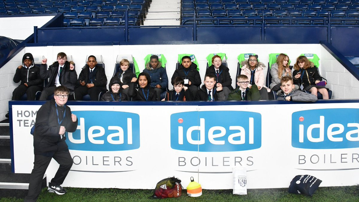 🗣 Id do anything to come again. SEND pupils and students from deprived backgrounds from @BHallAcademy, had a day theyll never forget as they enjoyed a matchday experience at @WBAs fixture with Nottingham Forest. More ➡️ bit.ly/taf-bha #WBA