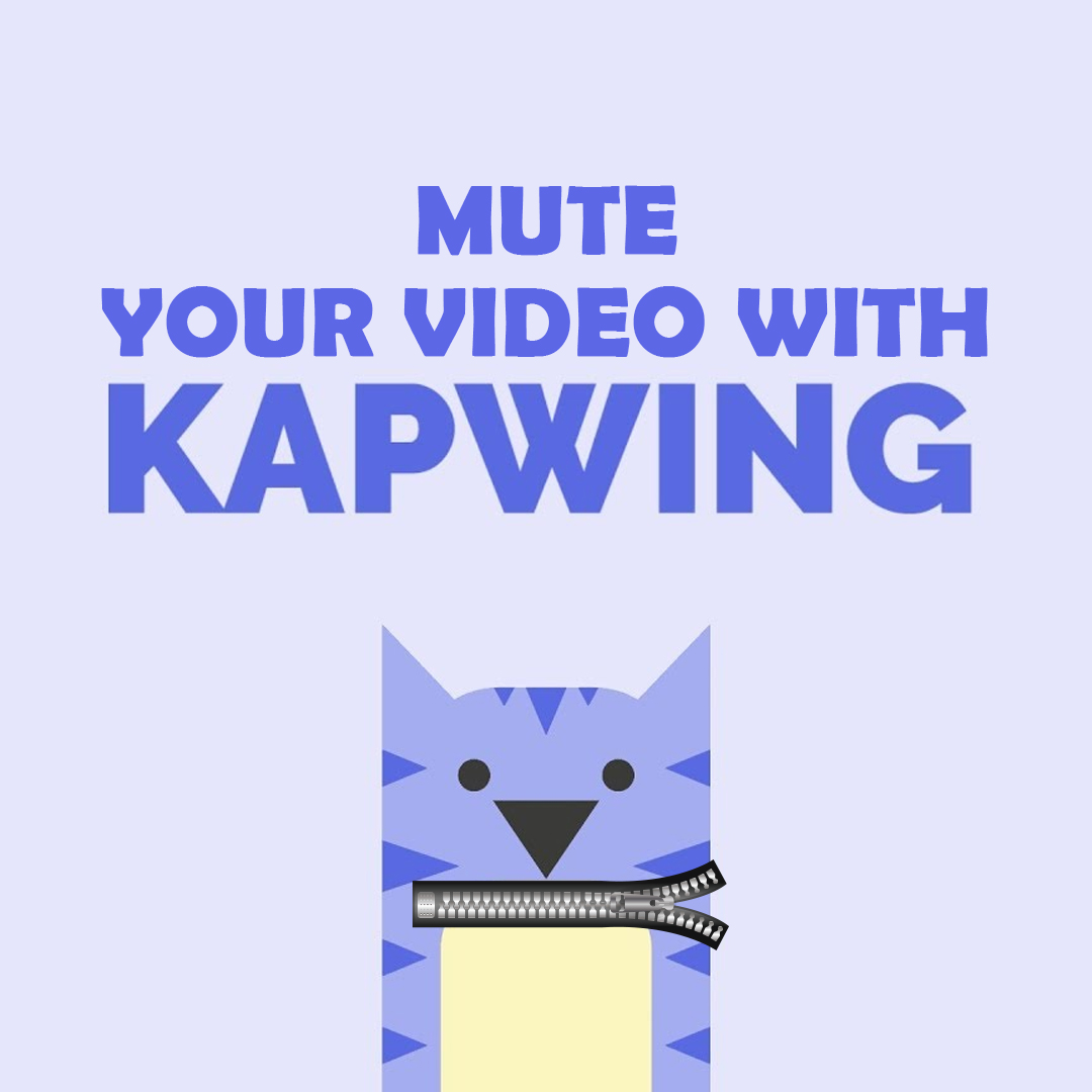 Mute your Video with Kapwing by either upload file or from a link, and here the link of the Kapwing http://bit.ly/3bPT1nj  #TechnologyHacksandTips #SocialMediaHackandTips   #socialmedia #TechTips #technology #quicktip pic.twitter.com/XIgYOjig5Q