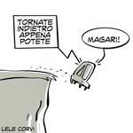 Image for the Tweet beginning: Pensare prima di agire. #vignette #pensare