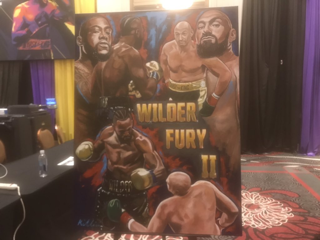 Wilder eyes Ali, fans pay big to watch on big screen, bookies and greats back Wilder. It's all getting lively in Las Vegas. Latest: http://www.bbc.co.uk/sport/boxing/51556710… #bbcboxing #WilderFury
