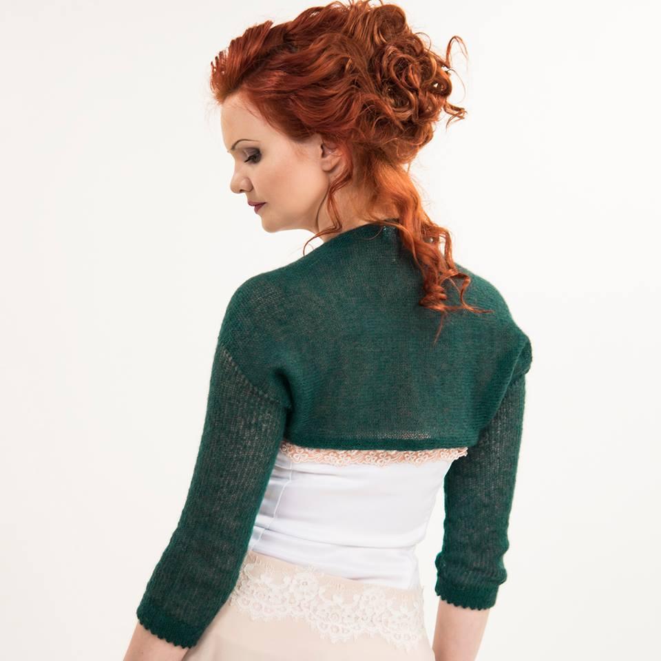 #Wedding #bolero #Bridal #shrug #Green #jacket #Knit #mohairbolero #weddingjacket #Bridesmaid #gift  @Etsy