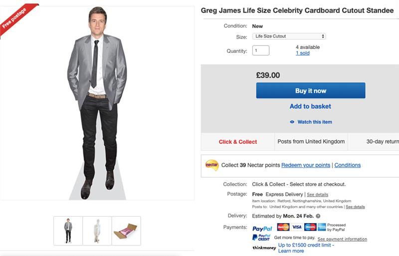 Ebay Co Uk On Twitter Gregjames We Ve Seen You Didn T Make It Home Last Night And Bellamackie Is Starting To Get A Little Miffed For Just 39 We Ll Send This Round To Your Place