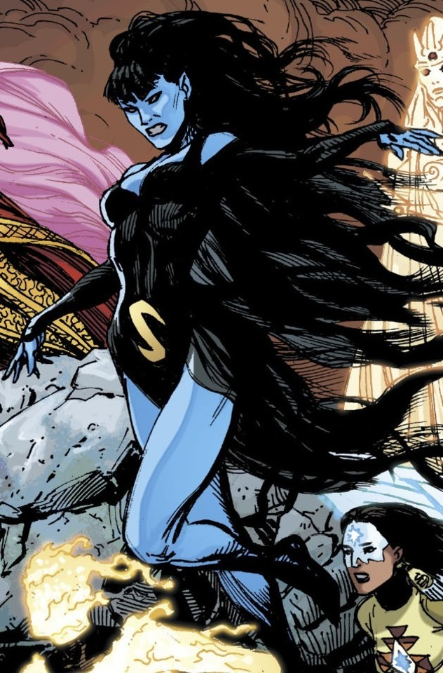 #ComicBooks #Superheroes #DC  Suddenly....  Shadow Lass.pic.twitter.com/5hBrWm6Smm