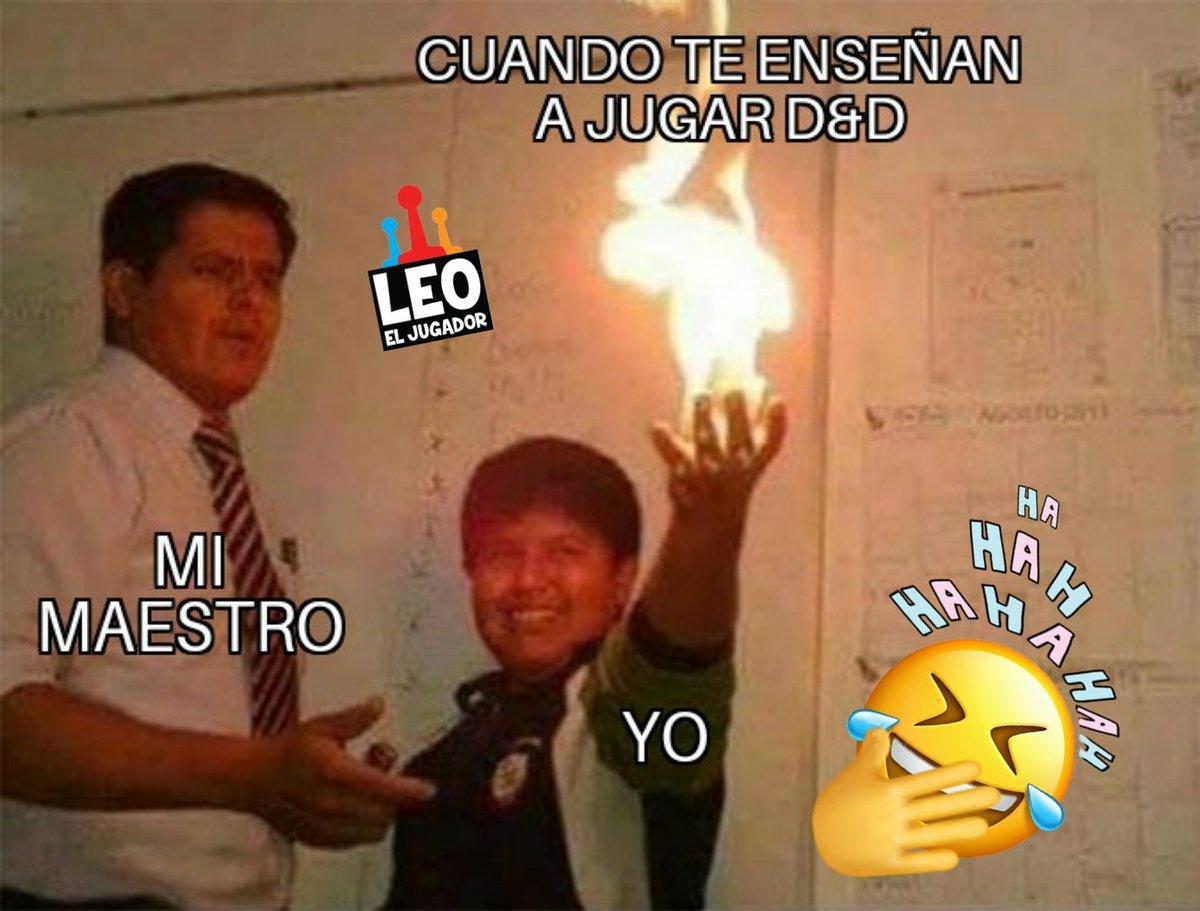 Un saludito a @Sunglar #leoeljugador #juegosdemesa #juegosderol #tabletopgames #boardgames #dndmemes #DnD #memesdaily #memes2020 #memespic.twitter.com/uXMtZnuPGm