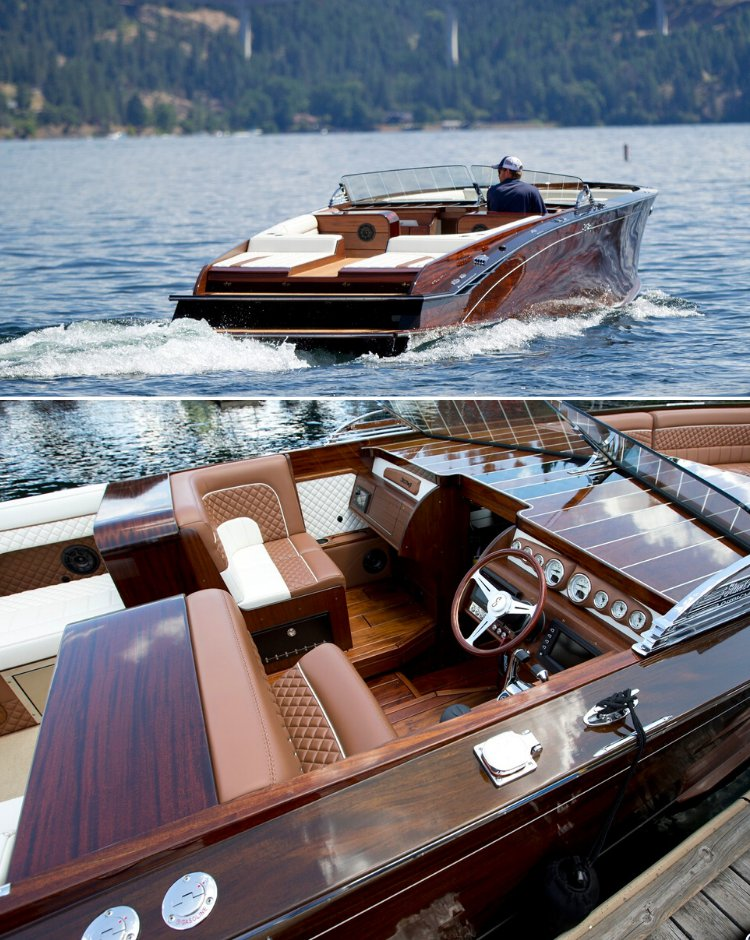 JamesEdition: This is the sexiest boat on the water. And, yes. It's all high-quality wood. Built in 2019, the 36' Hammerhead is the top model in the StanCraft lineup. #jamesedition #yacht #yachtlife  Price: US$ 925,000 http://bit.ly/2uaBBRppic.twitter.com/broBx7U5bb