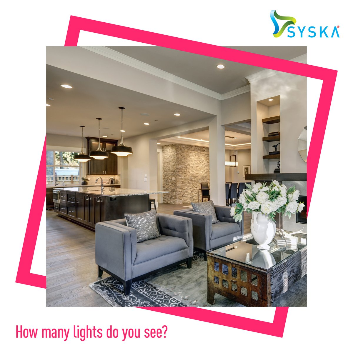 Tell us how many @Syska_LED lights you see in this image for a chance to win our giveaway! Here are the rules: - Follow @Syska_LED on Facebook, Twitter and Instagram - Comment on all 3 @Syska_LED contest posts using #GameOfLights - Tag 3 friends and invite them to participate