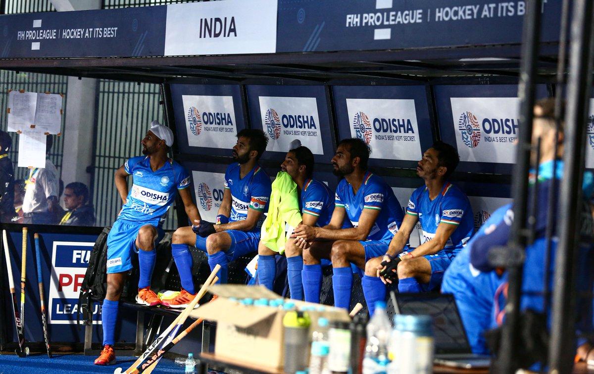 Waiting for Match Day to arrive like…⏳#IndiaKaGame #FIHProLeague #INDvAUS #HockeyInvites #HockeyAtItsBest