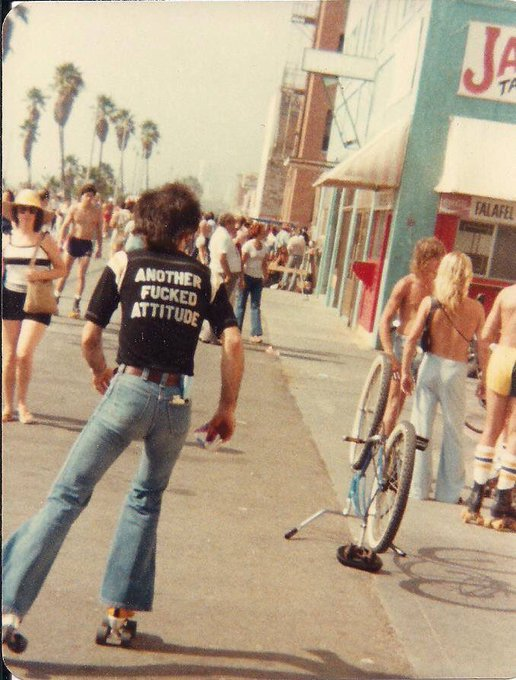 One of my all time favorite photos of my dad. - Venice Beach, CA https://t.co/yHcjSTztwd