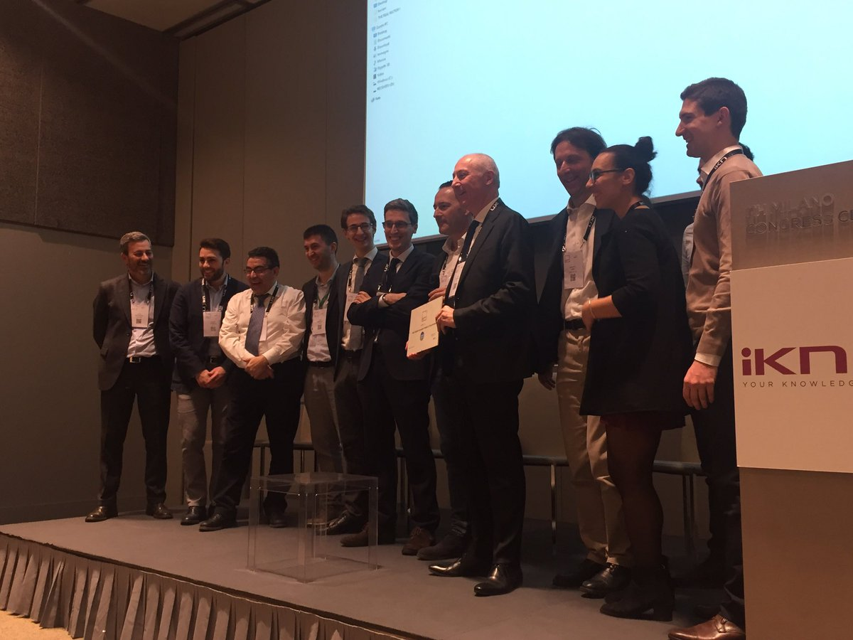 Ai #ProcurementAward si premia @snam nella categoria Best Digital Innovation Project in Procurement! https://t.co/j9tSAPUKOI