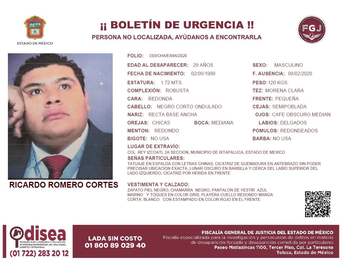 #ApoyoCiudadano ayúdanos a #Localizar a #Ricardo cualquier información es de gran importancia.