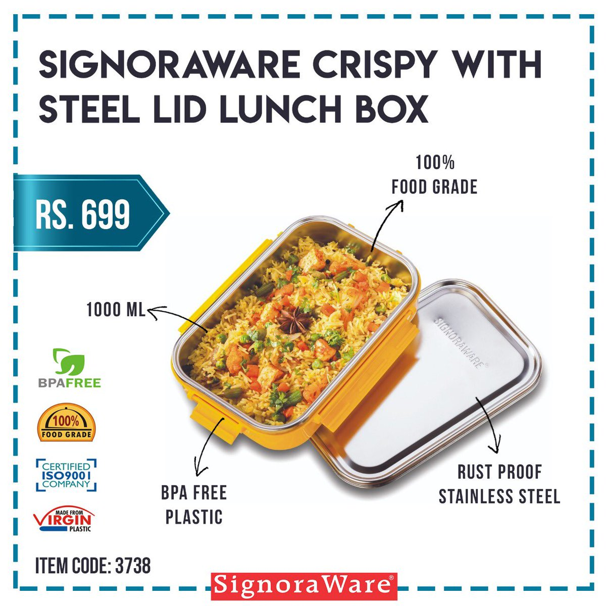 #NewProduct Be the first ones to grab the latest Signoraware products! Shop now at https://amzn.to/2LRIhvQ #new #newlaunch #newproduct #kitchen #kitchenproducts #designerkitchen #kitchendecor #usefulproducts #shop #shopnow #onlineshopping #onlineshop #budgetfriendly #designerpic.twitter.com/De2sXyuGnX