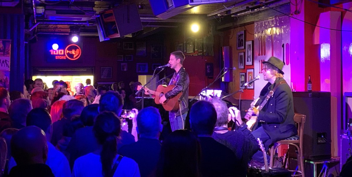 Great ⁦@theriflesband⁩ gig ⁦@100clubLondon⁩