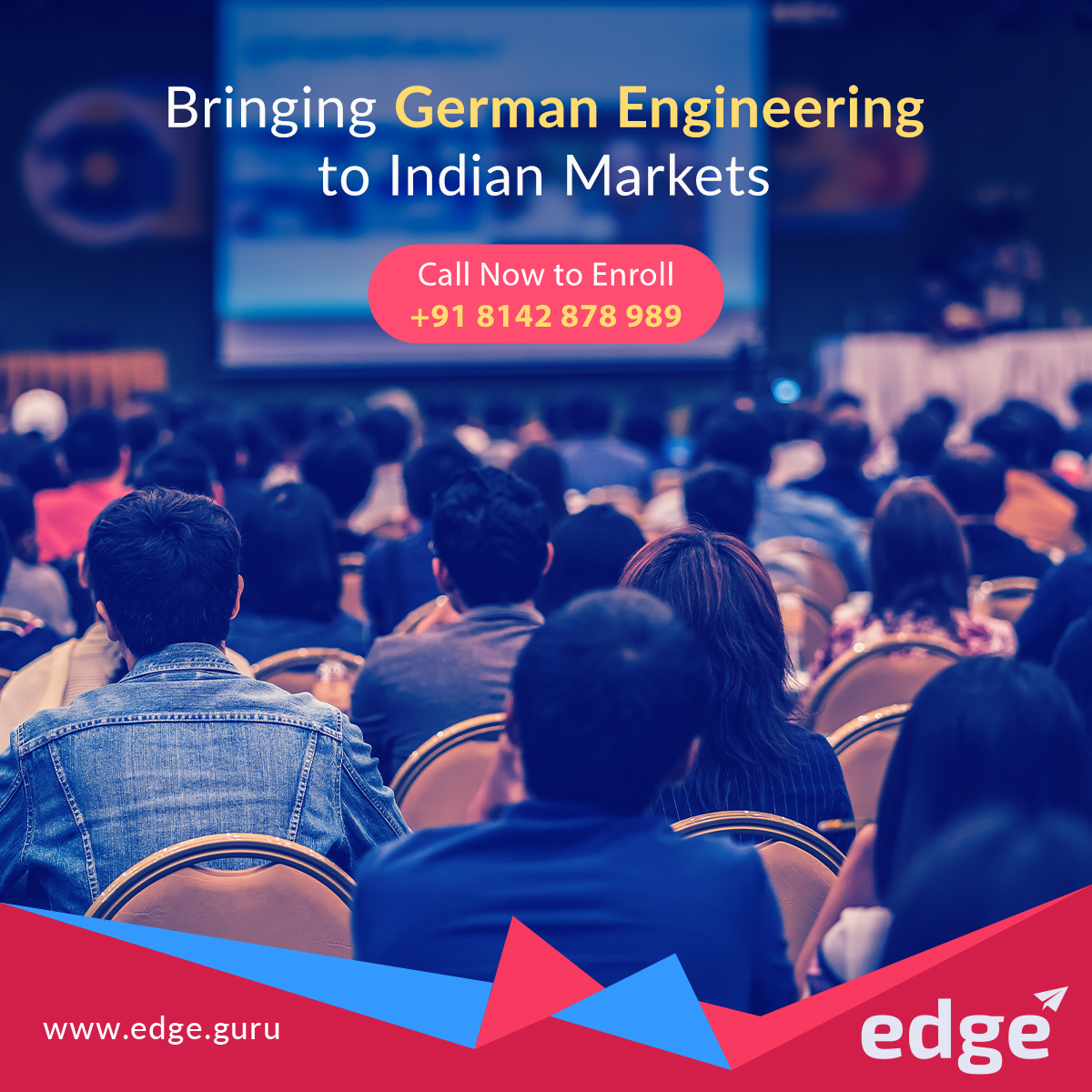 International aspirants today constitute more than 13% of the entire student population in #Germany out of which Indians form the second largest group enrolled in #GermanUniversities. Now #EdgeFinishingSchool brings #GermanEngineering to India. Enroll Now! pic.twitter.com/NpQPTdwjMS