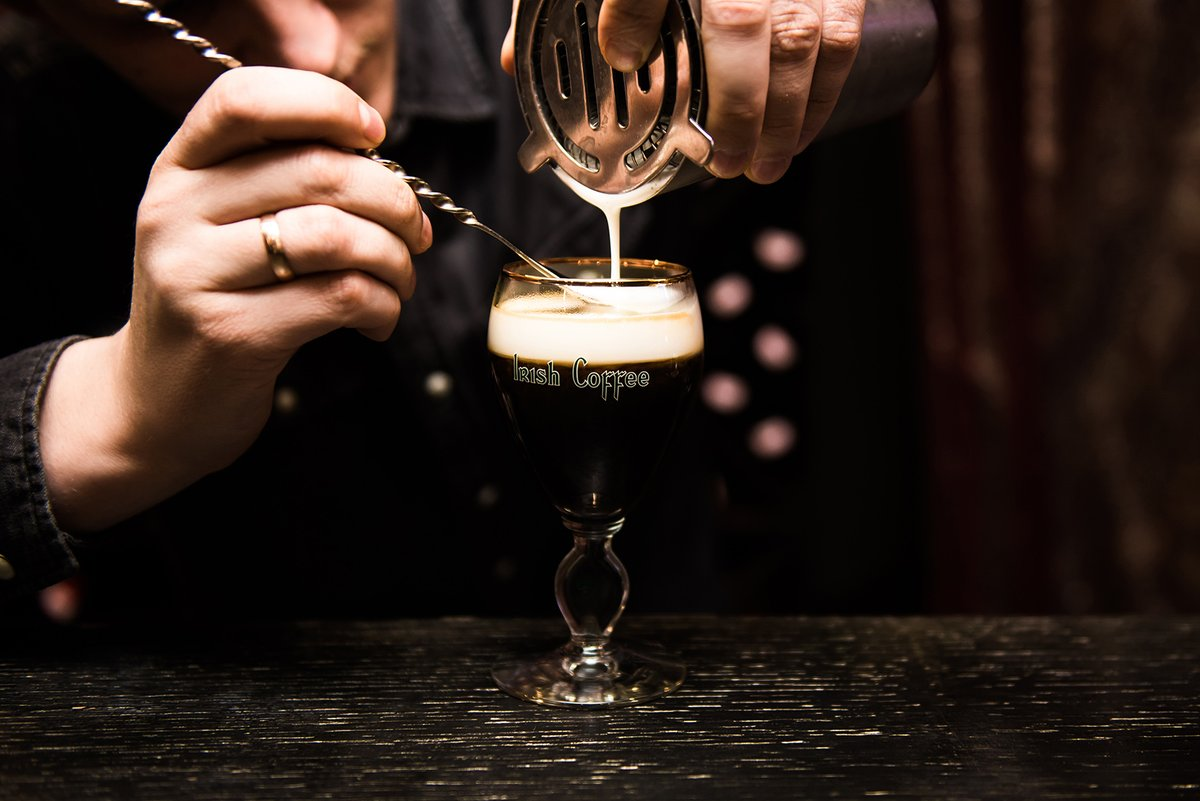 Irish coffee, or coffee with a splash of Irish whiskey, was invented where? A) Dingle. B) Limerick. C) Seattle. https://t.co/qiv5BSqGyS
