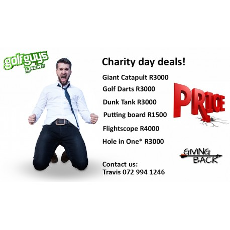 If you are a charity or raising funds for an extraordinary cause in the community, then this offer is for you.  *Bookings dependent on availability.  For more  email  sean@golfguys.co.za / travis@golfguys.co.za . #GolfGuys #GolfDay  #GolfRSApic.twitter.com/UhRg4qUWPL