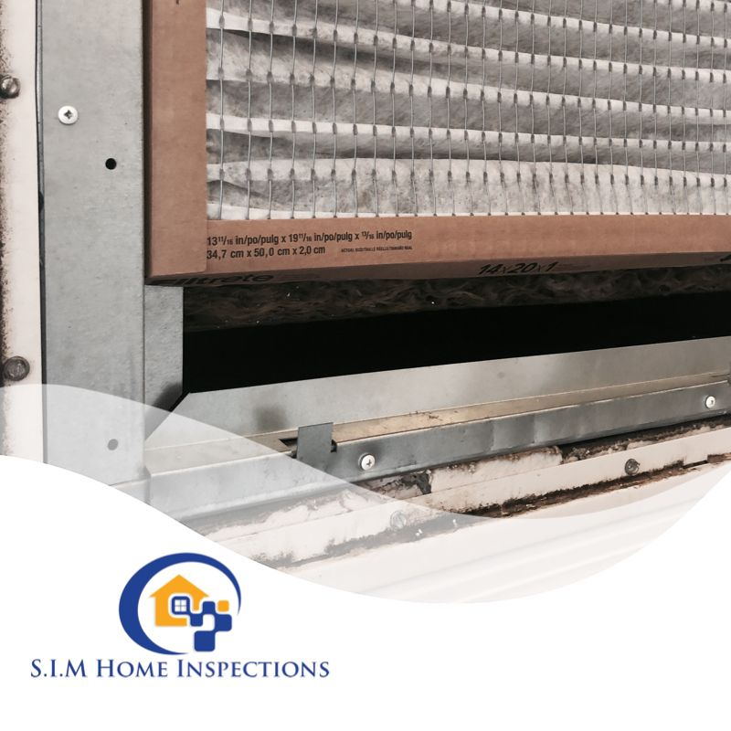 Changing your A/C filter regularly, use proper size filter and installing it proper air flow direction are some of steps you should take to prevent A/C malfunction. #airconditioning  #simhomeinspections #homeinspection #homeinspector #realtor #homebuyers  #tampabaypic.twitter.com/sldJyiexpG