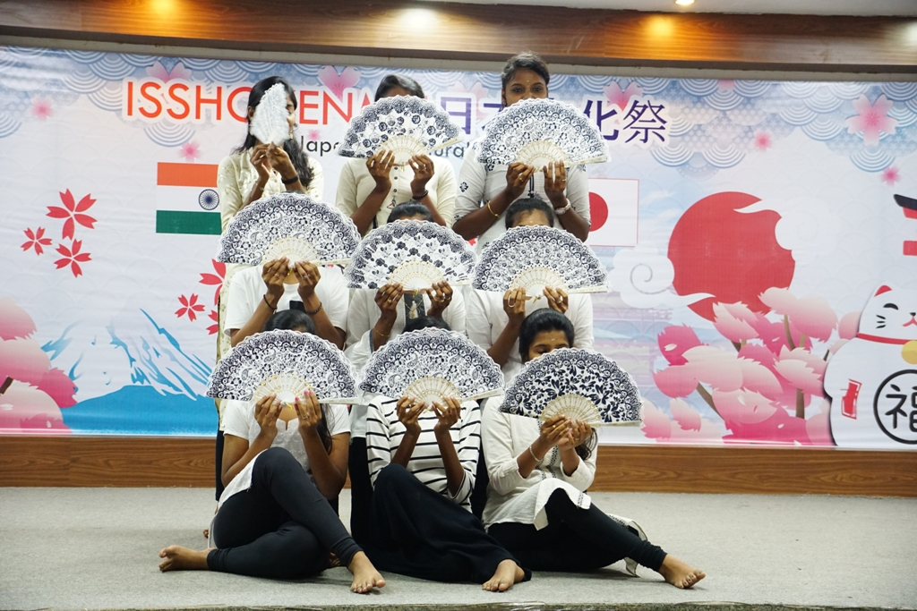 """Asian Language Club of #ChennaiInstituteofTechnology organised """"ISSHOKENMEI"""" - The Japanese Cultural Festival 2020 on 19th February, 2020 at Kaveri Auditorium, CIT Campus.  #Japan #JapaneseFest #ISSOKENMEIpic.twitter.com/U51zzJP0OK"""