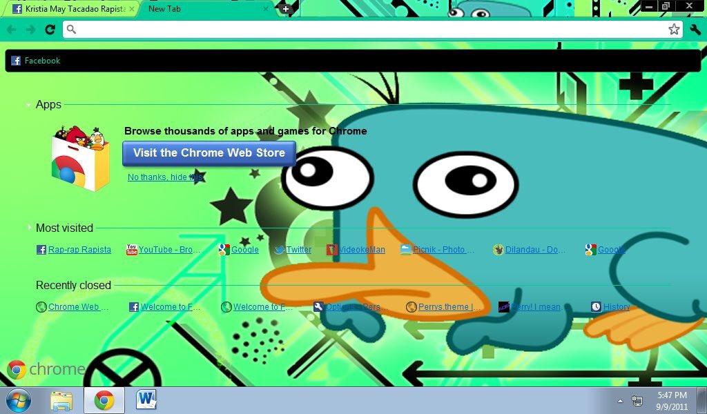 2011 google chrome browser #perrytheplatypus pic.twitter.com/bq0oX4q30d