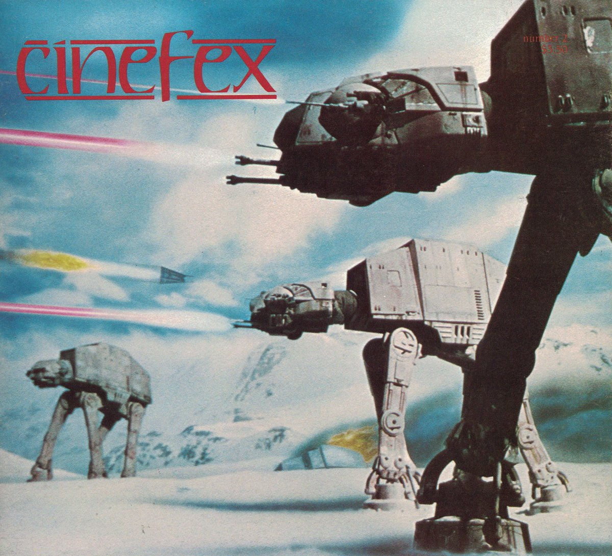 Cinefex magazine Number 2, August 1980. #80s #SciFi #movies #starwarspic.twitter.com/kEiTjyx9Og