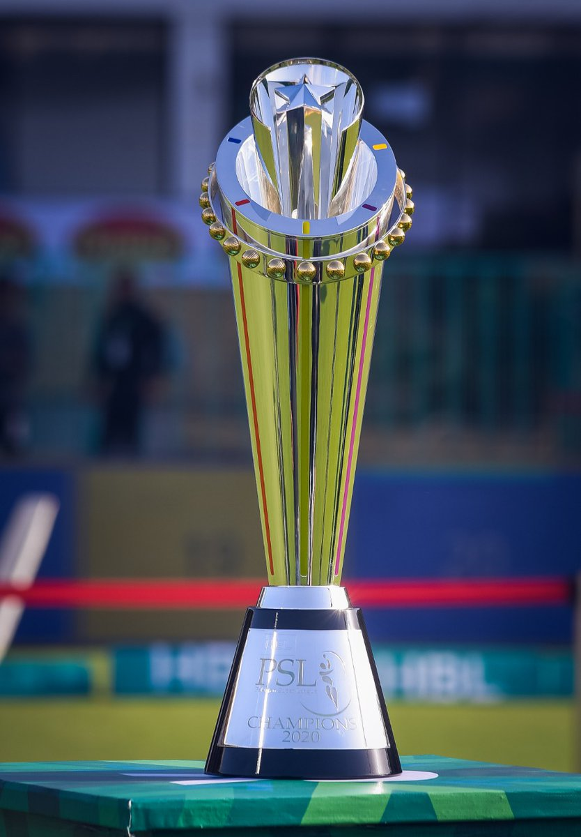 Pictures courtesy of PCB from today's PSL Trophy unveiling ceremony #PSLV https://t.co/lj2OOrv70i