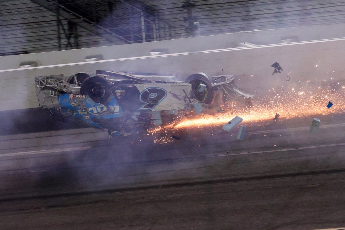 NASCAR driver Ryan Newman is awake and speaking with family after fiery crash >  #kprc2 #news #Daytona500