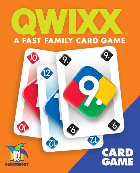 Qwixx Card Game(2020) https://boardgamegeek.com/boardgameversion/495139/english-edition…  Qwixx: Das Kartenspiel(2014) https://boardgamegeek.com/boardgameversion/227236/german-first-edition…  『クウィックス:カードゲーム』の新版と旧版。pic.twitter.com/WJ3sBwuSoo