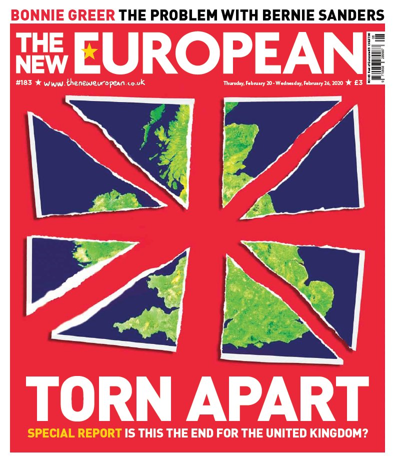 Does Brexit spell the end of the United Kingdom? The New European looks at what might happen next. On sale Thursday for £3