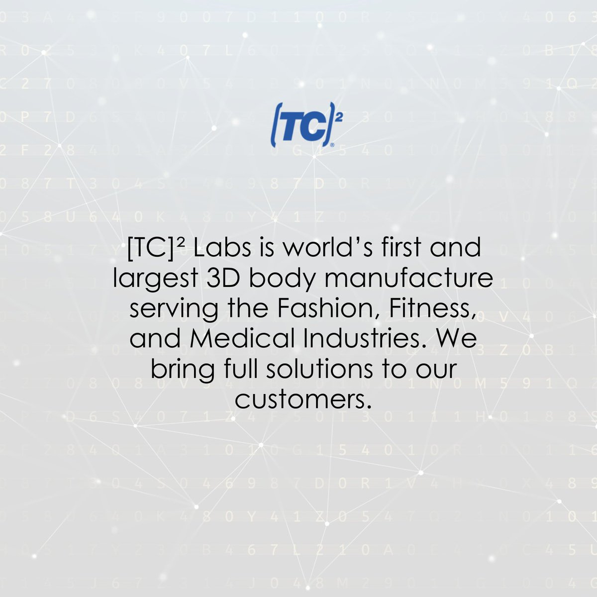 We are formed to offer 3D body scanners, Consultancy, Training, Installation services, Maintenance & support, Sizing information, Specialized software to our targeted vertical markets. For more such updates:  #3DTechnology #3dcustomisedsolutions #3DServices