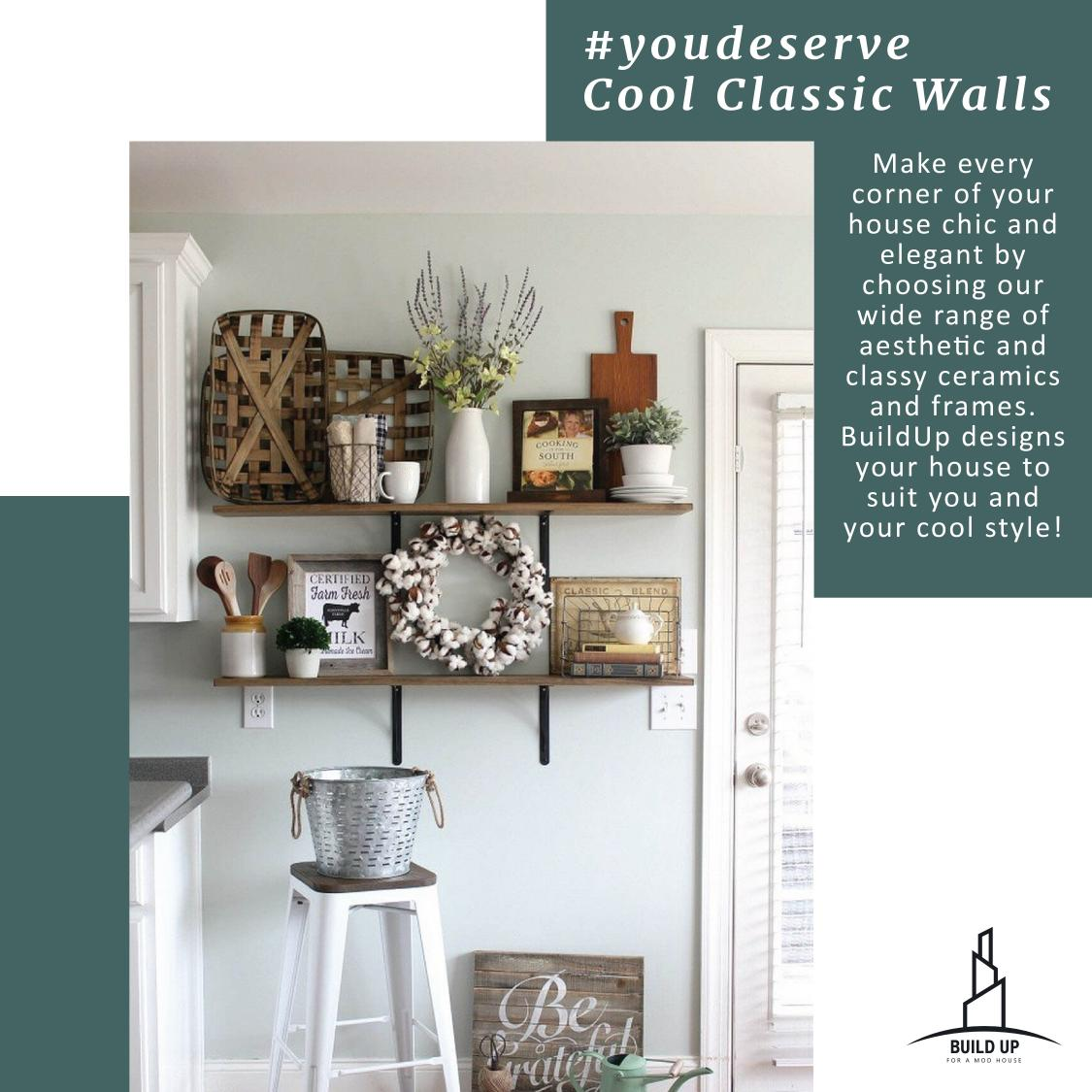 Join us in our new journey #youdeserve and get the perfect look  to your wall by mailing us on hello@buildup.in  deserve every look you want!! #ceramic #walls #frames #colours #classy  #bliss #perfectlook #youdeserve #campaign #joinus #buildupwithus #buildup  #interiordesignpic.twitter.com/aNoJWpUVxI