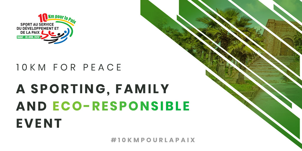 New! This year the 10KM FOR PEACE has decided to go green and make the event more eco-friendly. Stay tuned for more details in the coming weeks.  #10kmpourlapaix #running #ecofriendly #ecoresponsable #goinggreen #5km #runner #peace #instarun #run #courseapied #maroc #rabat #10km<br>http://pic.twitter.com/kMnOM3IRob