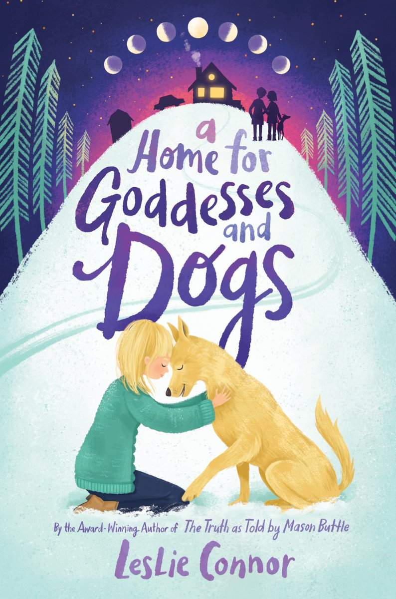 .@LeslieConnor29s next book, A HOME FOR GODDESSES AND DOGS, is out in less than a week! This story sings about loss and love and finding joy in new friendships and a loving family—and the world's best bad dog. Enter for your chance to win a copy: goodreads.com/giveaway/show/…