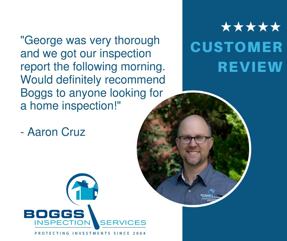 Our inspectors take great pride in educating buyers as they become familiar and comfortable with the home they want to purchase. George is a great communicator and enjoys walking buyers through this process.   -  #homeinspection #topnotchinspector #fivestarreviewpic.twitter.com/GjTMJK5Y8L