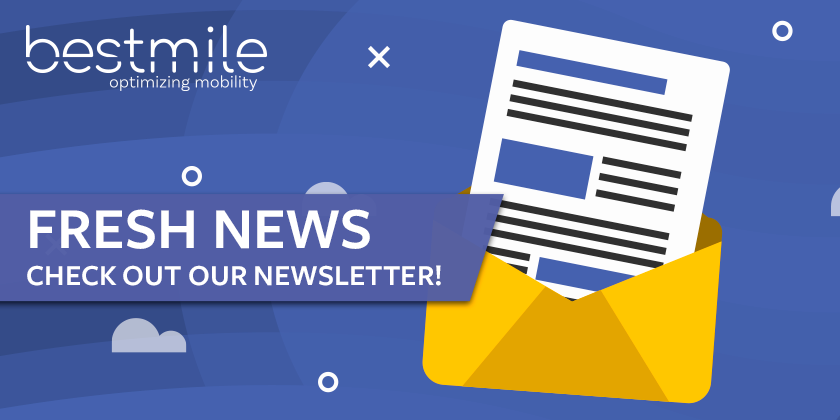 #Bestmile's February newsletter is out--learn what's new in the world of #smartmobility--and don't forget to subscribe! https://hubs.ly/H0n3z7G0 #fleetorchestrationpic.twitter.com/OwEWG8L1Ce