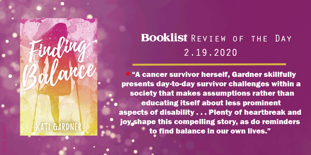 #ReviewoftheDay | FINDING BALANCE by @AuthorKati | @fluxbooks | bit.ly/31Tv36a