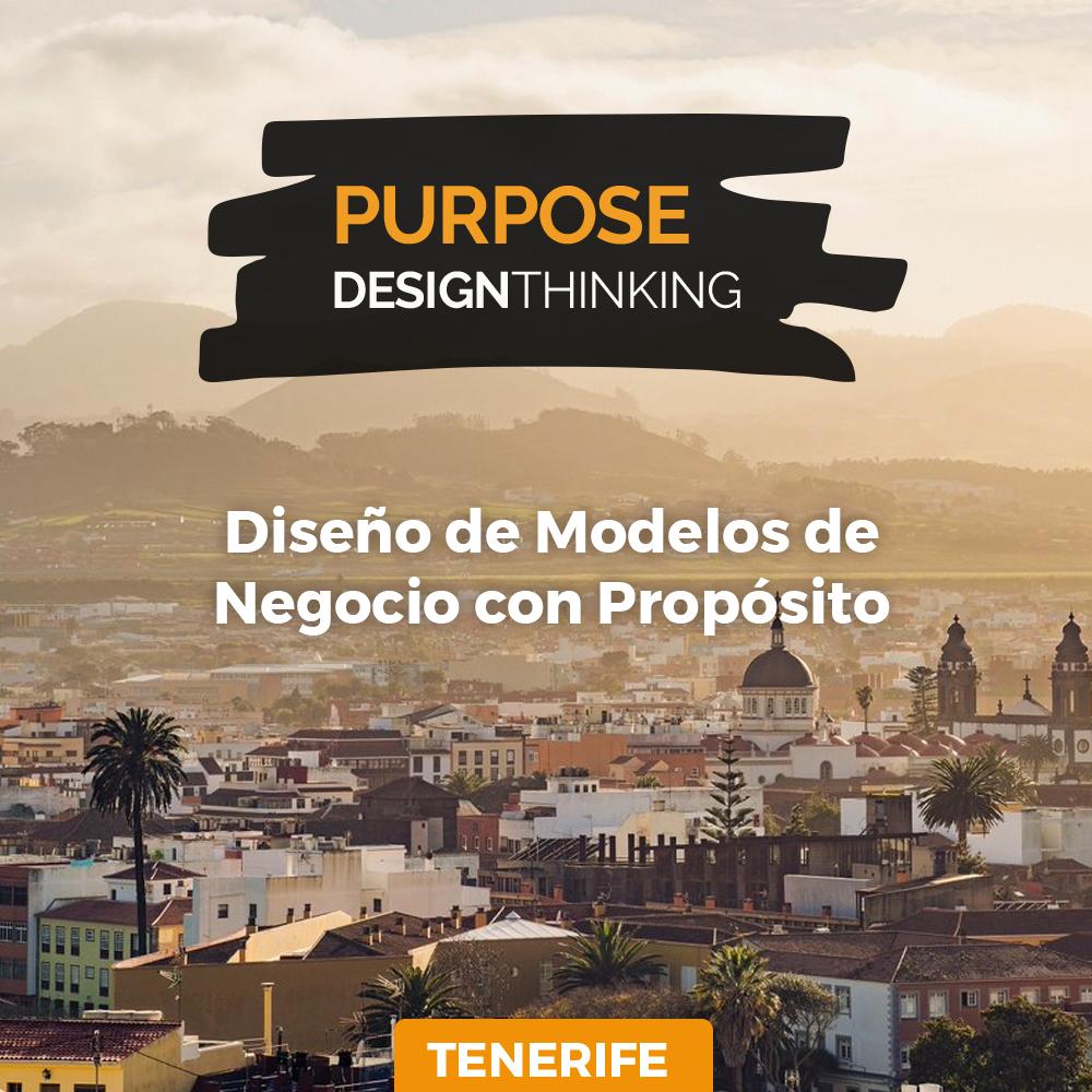 🚀Workshop: #Purpose #DesignThinking TENERIFE 🇪🇸 Prepárate para la nueva economía. Aprende a diseñar una  organización más resiliente, innovadora, sostenibles, ética y alineada a los #ODS  📆 ✔24/03  ✔25/03  🔛Reserva tu lugar! Cupos limitados