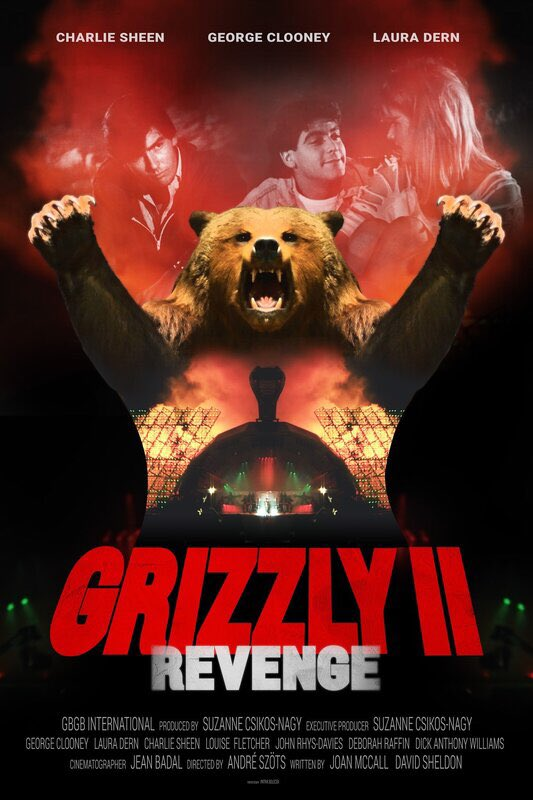 The Never Released 1983 Giant Killer Bear Sequel, GRIZZLY II: REVENGE, Has Finally Been Completed!   Details/trailer here: https://www.killerhorrorcritic.com/reviewsnews/the-never-released-1983-giant-killer-bear-sequel-grizzly-ii-revenge-has-finally-been-completed… #Grizzly2 #Grizzly