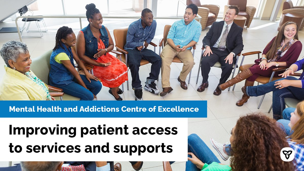 Ontario has established a new Mental Health and Addictions Centre of Excellence within Ontario Health. It will help ensure all Ontarians can easily access high-quality #MentalHealth and addictions services. http://news.ontario.ca/m/55843