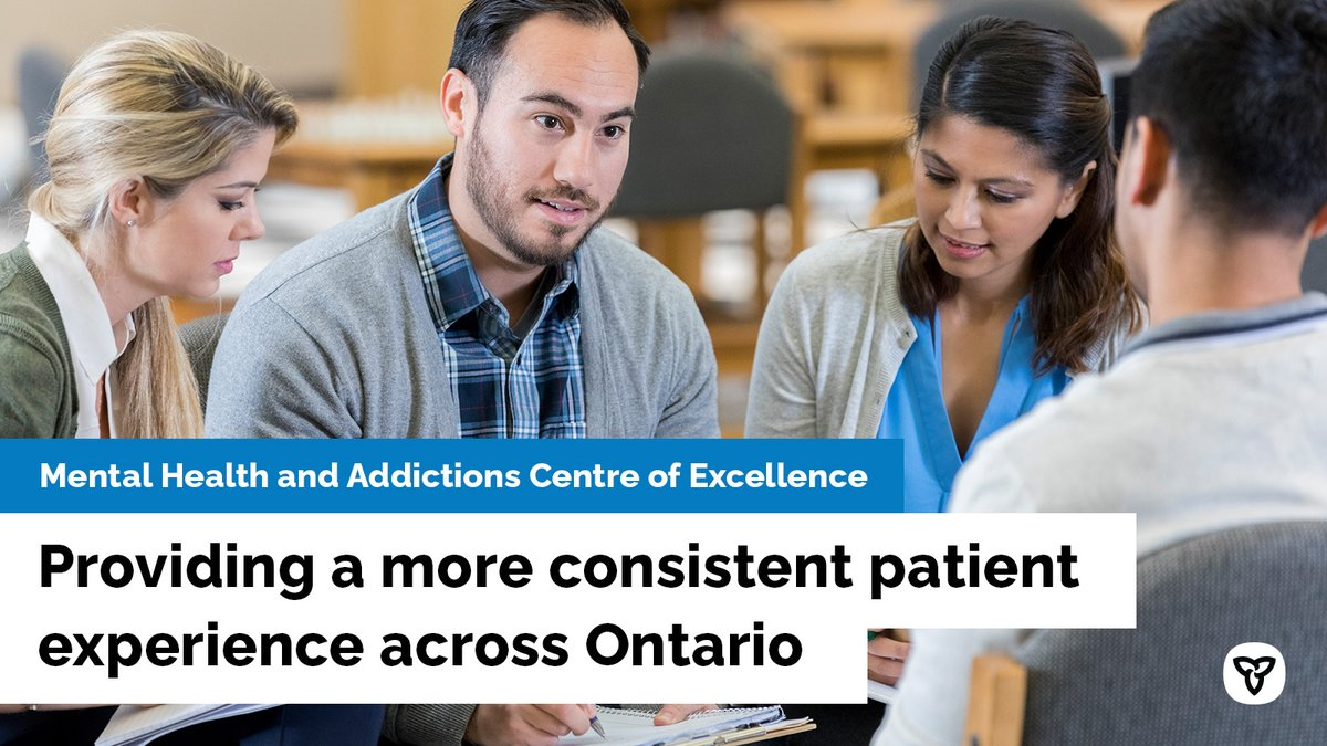 The #MentalHealth and Addictions Centre of Excellence will enable real and significant improvements to the quality and availability of services. http://news.ontario.ca/m/55843
