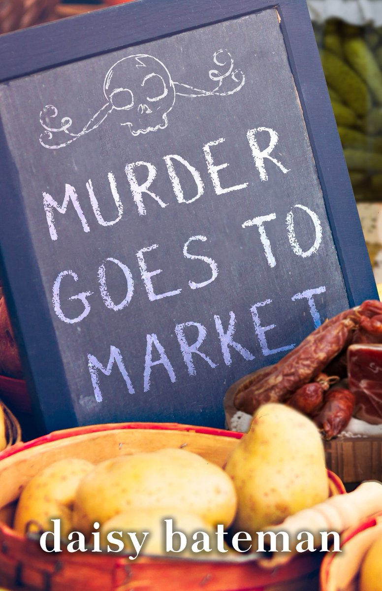 Cover reveal! Please give a warm Twitter welcome to the cover of MURDER GOES TO MARKET, coming 6/16/20 from @SeventhStBooks
