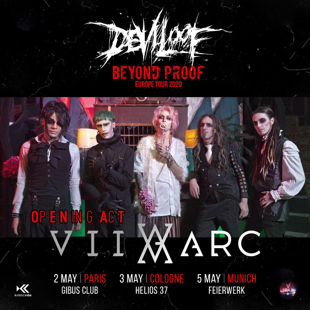「BEYOND PROOF TOUR」 Opening Act @VIIARC  We are stoked to announce the VII ARC will be opening for us at the following shows of our European Tour! 2 May Paris 3 May Cologne  5 May Munich  See you there and as always Stay metalpic.twitter.com/YFOMQQ3EVl