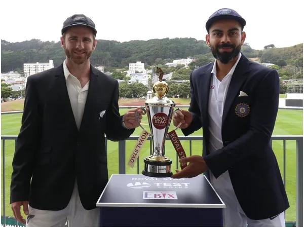 #INDvsNZ 'Won't mind sharing No.1 rank with New Zealand', @imVkohli wins hearts ahead of 1st Testhttps://www.timesnownews.com/sports/cricket/article/wont-mind-sharing-no-1-rank-with-new-zealand-virat-kohli-wins-hearts-ahead-of-1st-test-in-wellington/555535…