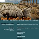 Image for the Tweet beginning: #BeniCulturali #Sicilia #archeologiasicilia #beniculturalisicilia #archeologiasiciliana