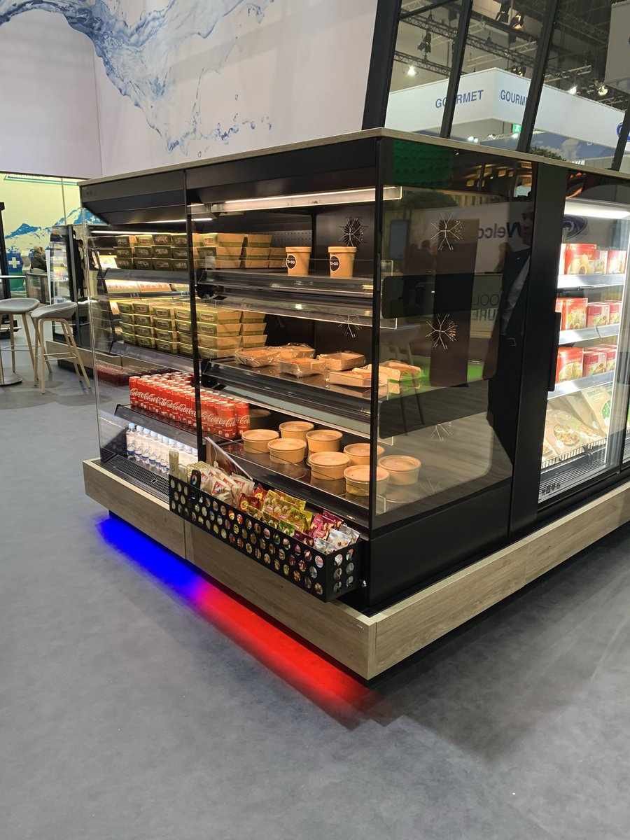Who's spotted our 3 tier flexeserve zone® on the HAUSER stand... if not, make sure you visit Hall 16, Stand A22. #wearehot #euroshop2020 https://t.co/QxBSMCnXbI