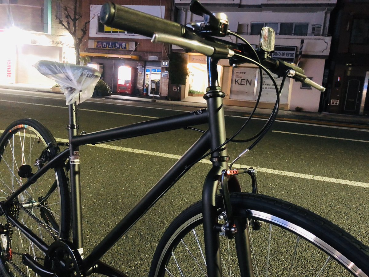 ウーバーイーツ クロスバイク