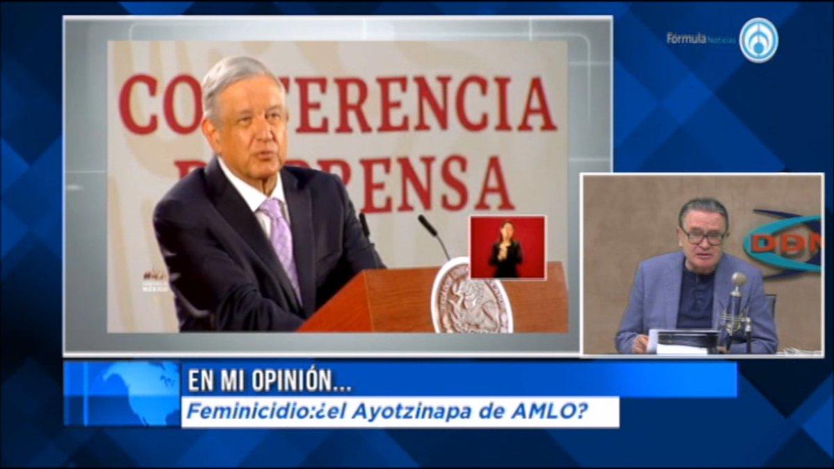 #VIDEO Hoy en #MiOpinion,  #Feminicidio: ¿el Ayotzinapa de AMLO?https://youtu.be/fGCj6dlnIoQ