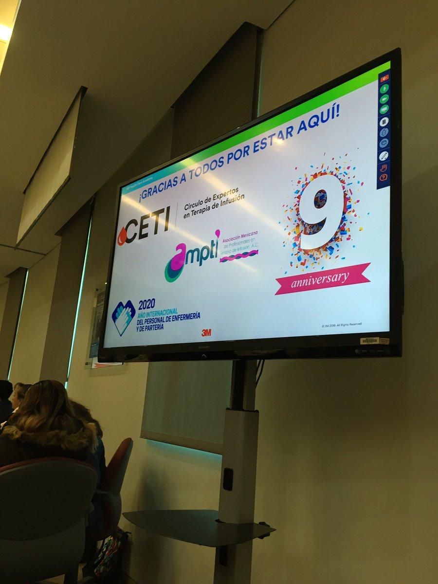 Iniciamos sesión clínica en #CETI  #3M el año de nuevos retos. @3Mmexico @AmptiMex